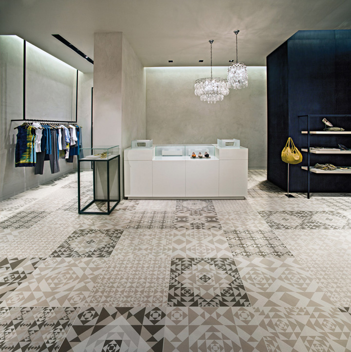 Floor Tile Technology : Frame collection ceramic floor by refin ceramiche retail