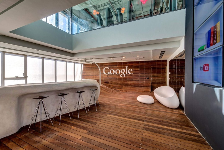 Google office by camenzind evolution setter architects for Office design studio