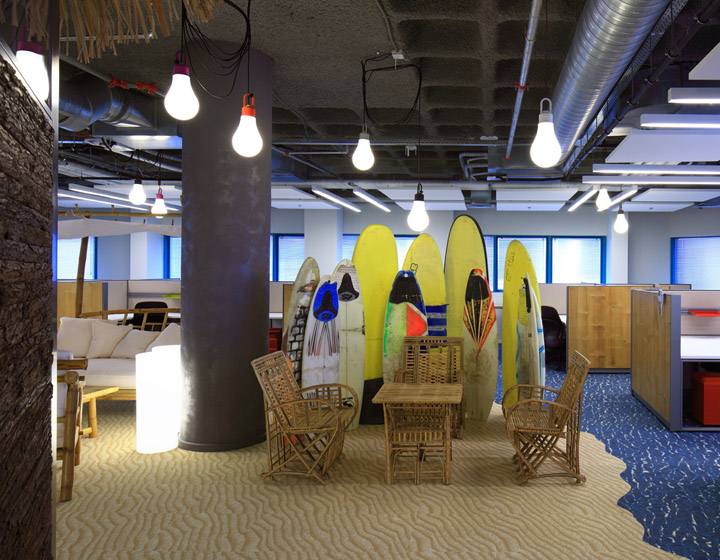 Google Office By Setter Architects Haifa Israel Retail Design Blog