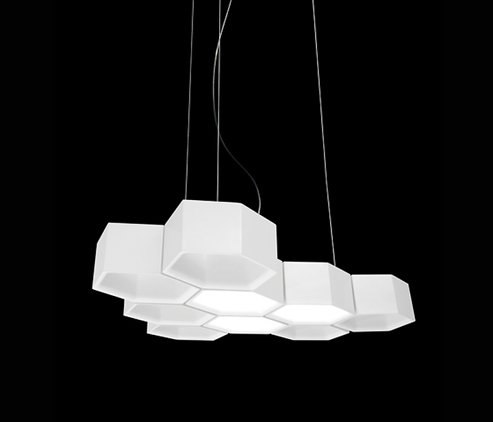 187 Honeycomb Lighting By Habits Studio For Luceplan
