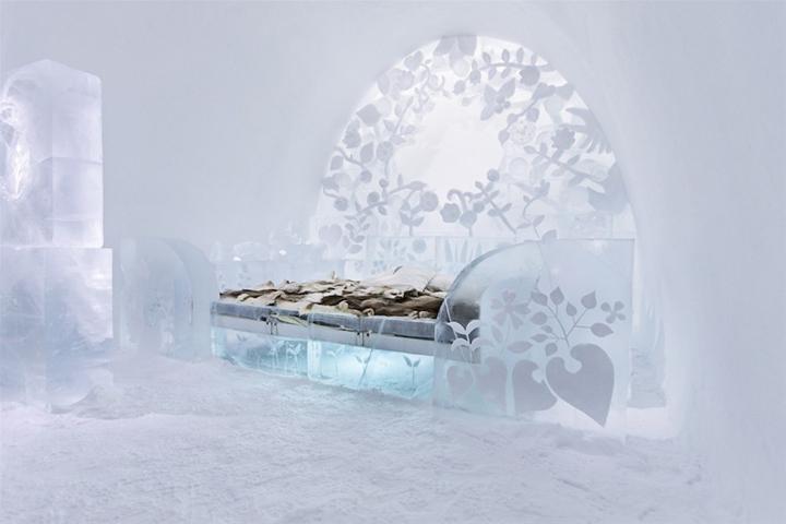 icehotel 23 art suites jukkasj rvi sweden retail design blog. Black Bedroom Furniture Sets. Home Design Ideas
