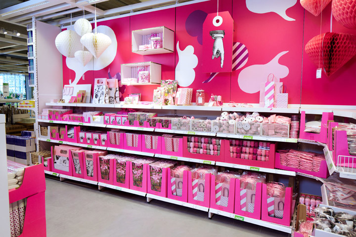 Ikea paper shop by kollo britain and sweden retail for Swedish design shop