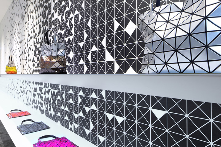 As A Handbag, Bilbao By Japanese Fashion Designer Issey Miyake Is Comprised  Of The Repeated Triangular Pieces U2013 Where The Longitudinal Interior Wall  Space ...