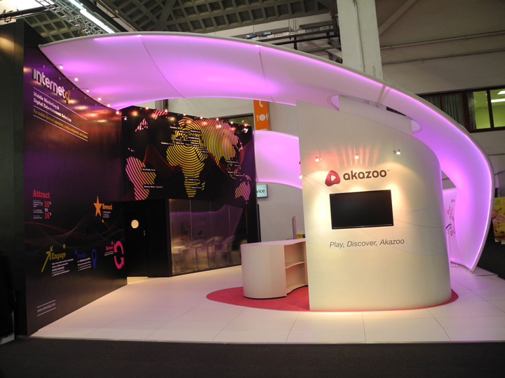 Exhibition Booth Lighting : Internet q akazoo exhibit display by instyle led lighting