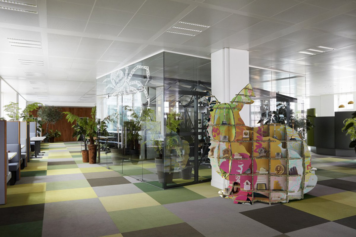 Jwt office by alrik koudenburg and rjw elsinga amsterdam for Decor agency