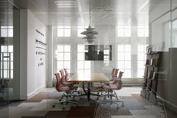 Jwt office by alrik koudenburg and rjw elsinga amsterdam for Design agencies amsterdam