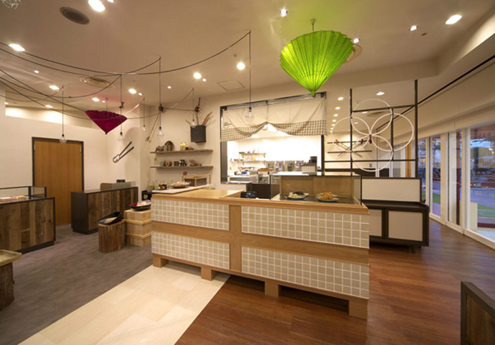 Konjaku An Store By Inly Design Osaka 187 Retail Design Blog
