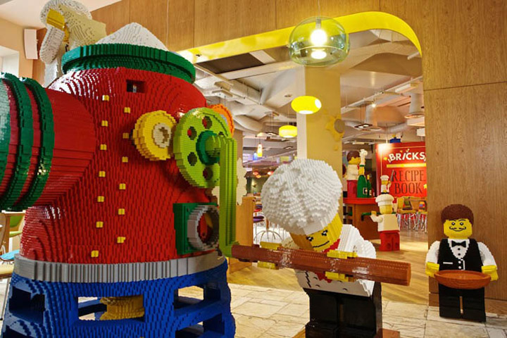 Legoland hotel carlsbad california retail design blog - Boutique lego londres ...