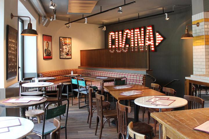 187 L Osteria Italian Restaurant By Dippold Innenarchitektur