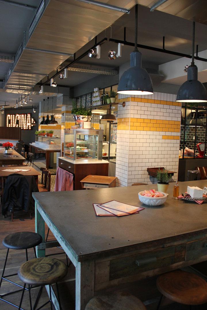 L'OSTERIA AM GASTEIG italian restaurant by DiPPOLD Innenarchitektur GmbH, Munich » Retail Design ...