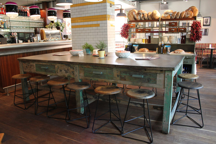 Vintage Restaurant Interior : Vintage furniture retail design