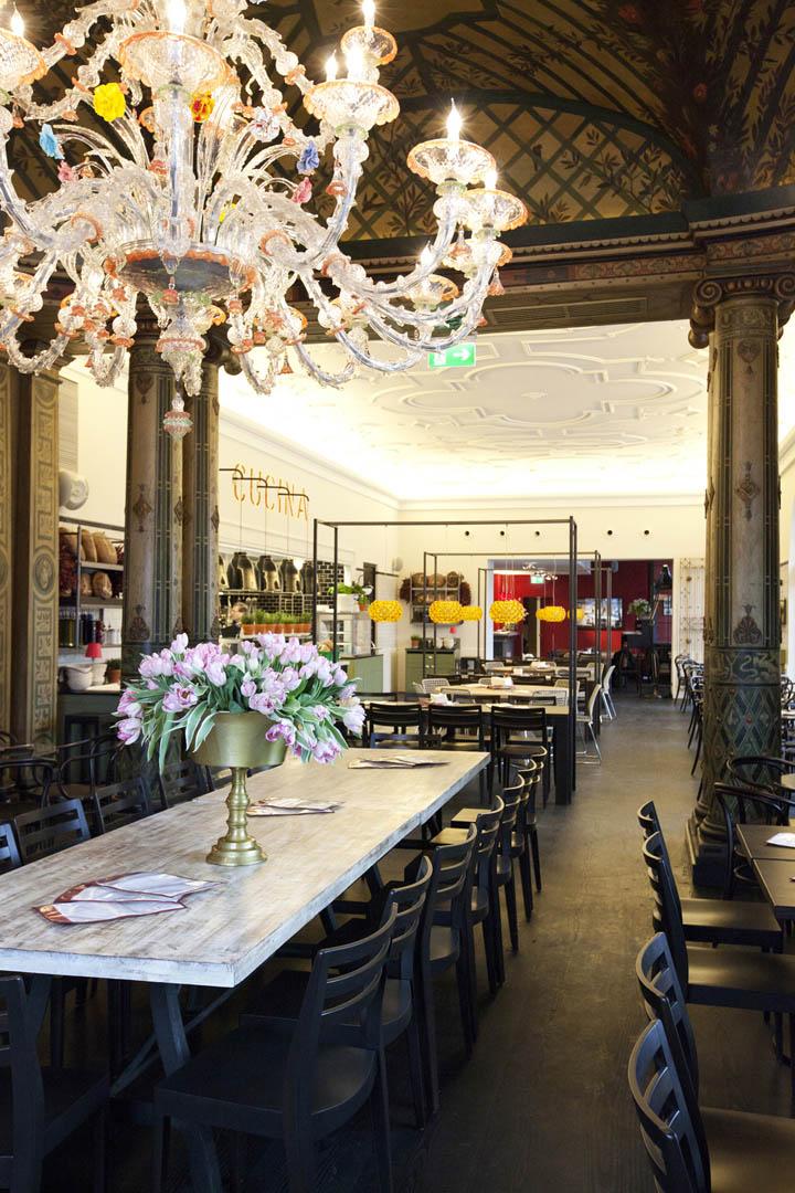 L'OSTERIA restaurant at Künstlerhaus by DiPPOLD Innenarchitektur GmbH, Munich » Retail Design Blog