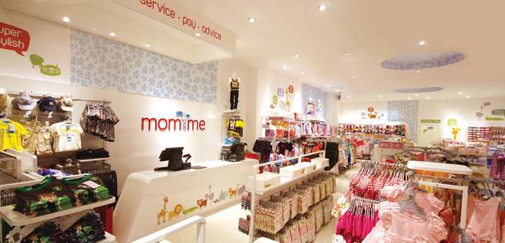 Mom And Me store by Mynt Design, Dubai » Retail Design Blog