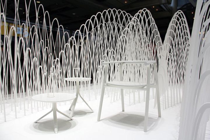Furniture Design Exhibition nendo exhibit at stockholm furniture & light fair » retail design blog