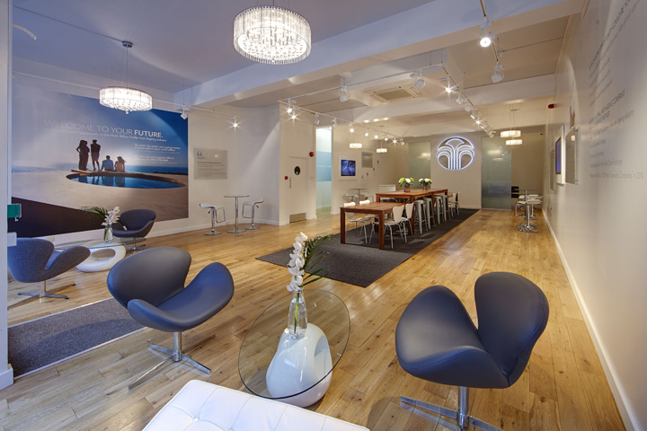 Nu skin spark centre by green room london retail for Green room retail design