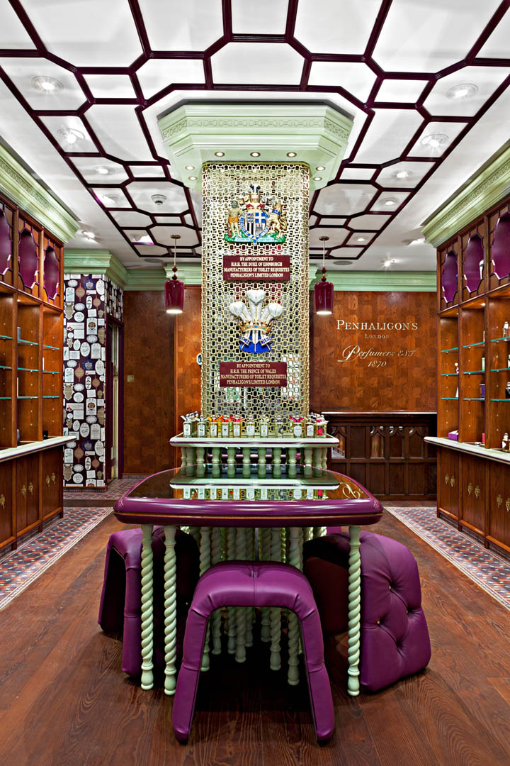 Design By: » Penhaligon's Boutique By Christopher Jenner, London