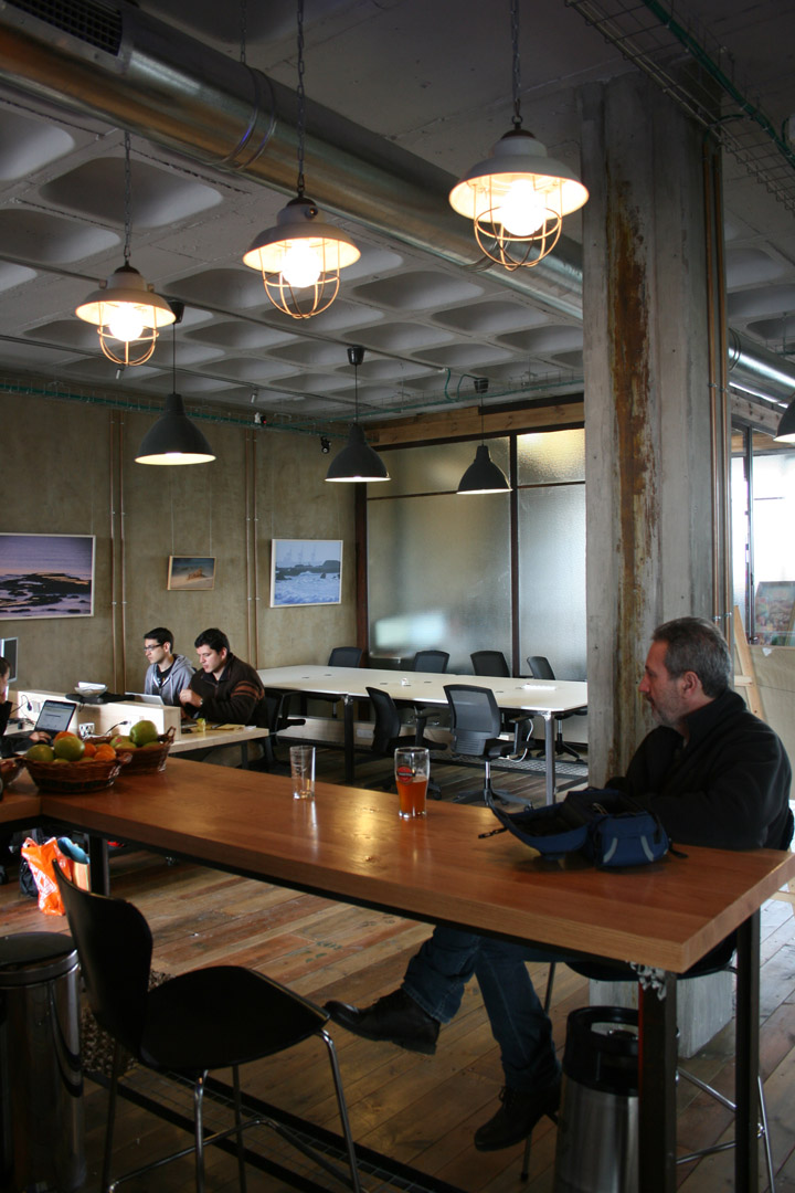 Pico Co Working Space By Shahar Katsav Design Studio