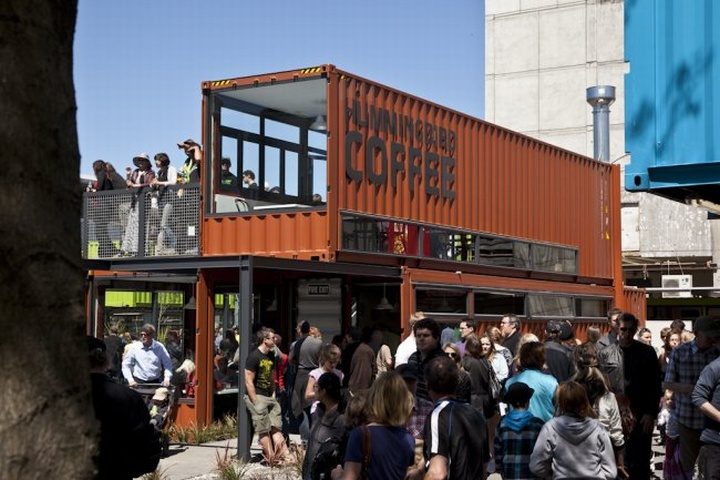 SHIPPING CONTAINERS! Re:START Shopping mall, Christchurch