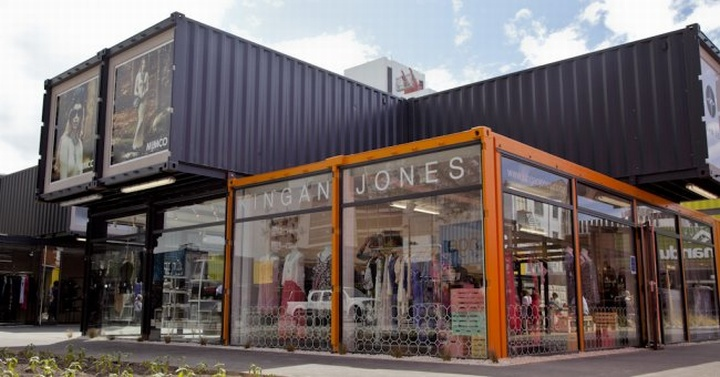 shipping containers re start shopping mall christchurch designer furniture stores in auckland the design store