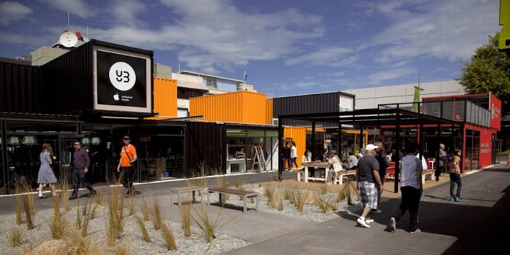 187 Shipping Containers Re Start Shopping Mall