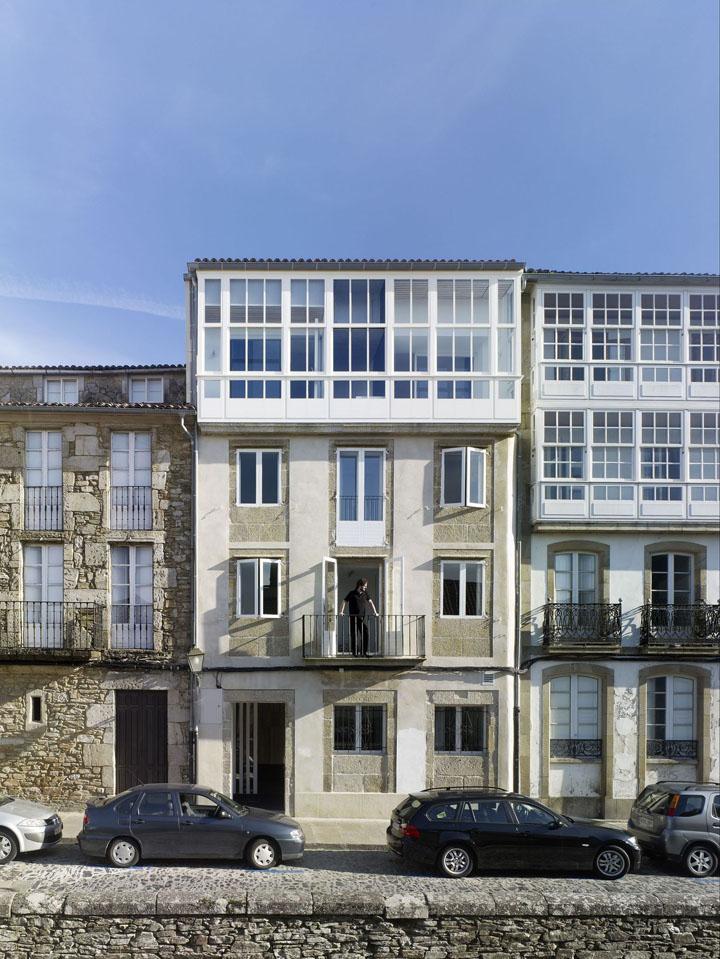 Rehabilitation hotel moure by abalo alonso arquitectos santiago de compostela spain retail - Arquitectos santiago de compostela ...