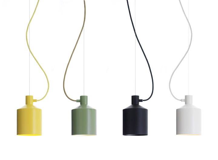 Silo lighting by Note Design Studio for Zero  Retail Design Blog