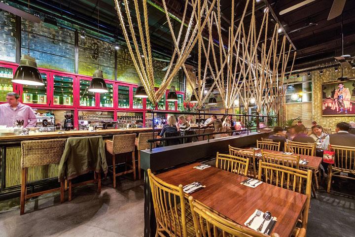 Thai restaurant by studio yaron tal tel aviv retail