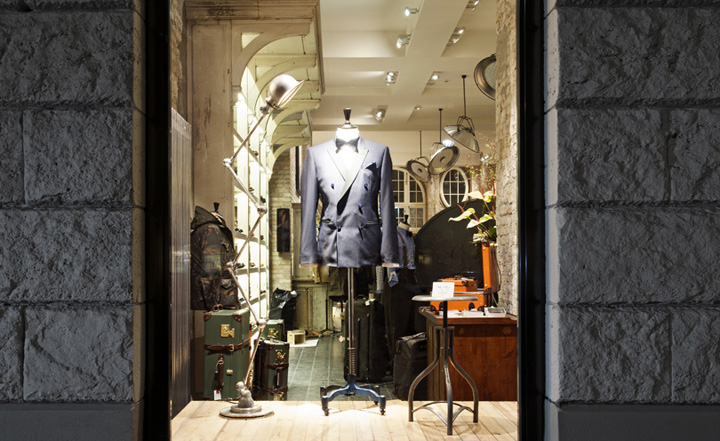 tommy hilfiger tailored at 14 oz by dfrost berlin retail design blog. Black Bedroom Furniture Sets. Home Design Ideas