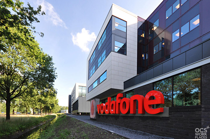 187 Vodafone Headquarters By Ocs Workplaces Amsterdam