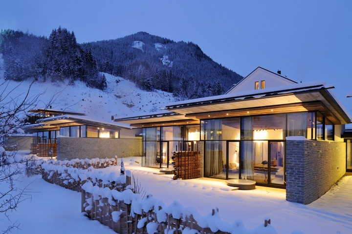 Wiesergut hotel by gogl partners architekten for Designhotel ski