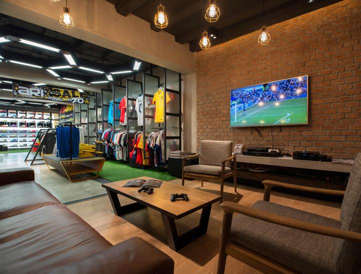 187 Ari Football Flagship Store By Whitespace Bangkok