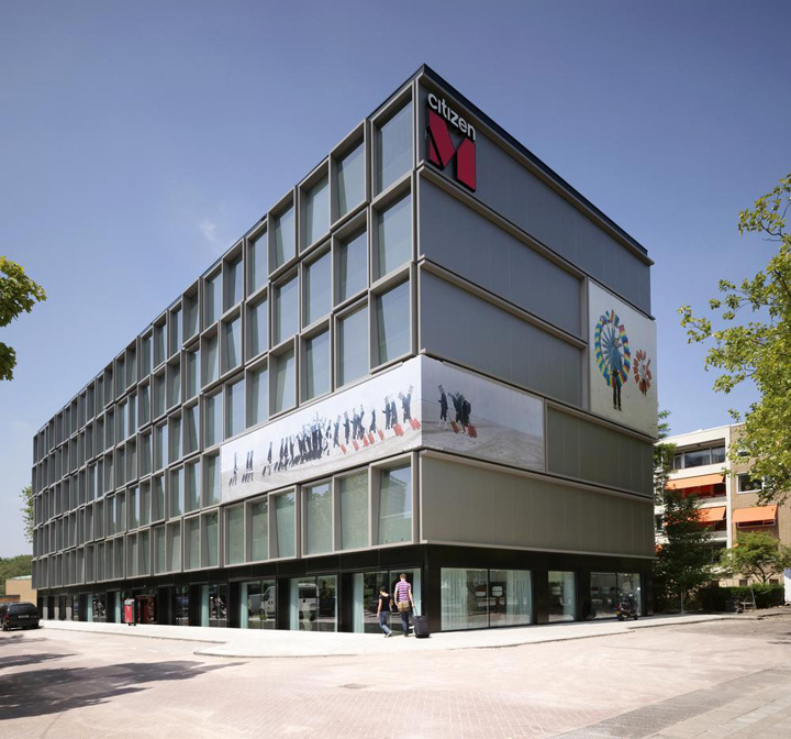 Citizenm hotel by concrete architectural associates amsterdam retail design blog - Design hotel citizenm london ...