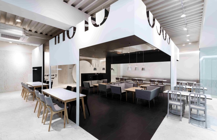 coco bruni cafebetwin space design, seoul » retail design blog
