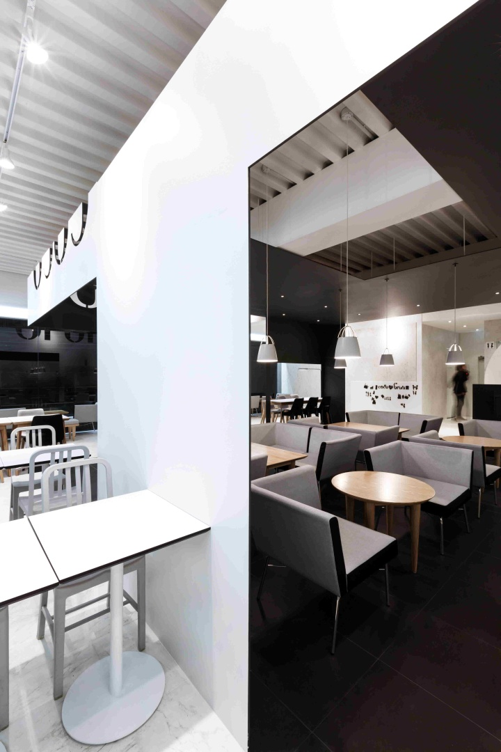 Gallery Space Design Coco bruni cafe by Bet...