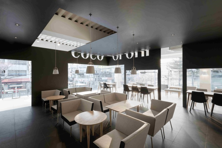 Coco Bruni Cafe By Betwin Space Design Seoul 187 Retail