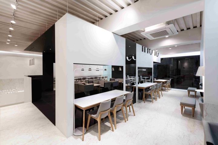 coco bruni cafe by betwin space design seoul retail design blog