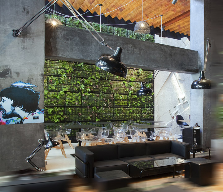 Green Cafe Design: » Coffee Shop By 314 Architecture Studio, Athens