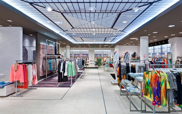 Fischer Fashion House Halle Germany Retail Design Blog