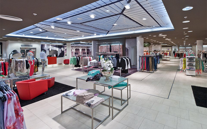 Fischer Fashion Store Halle Germany Retail Design Blog