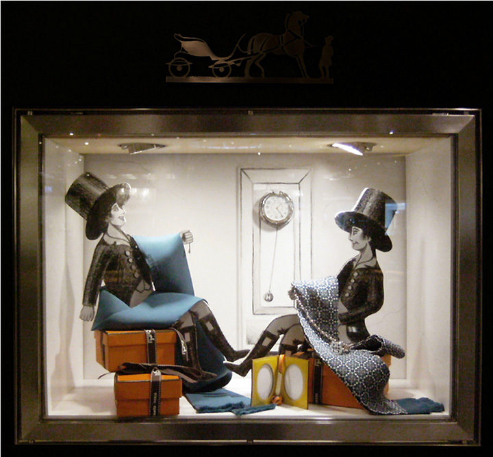 Light Shop Dubai Mall: » Hermès Workshop Window Display By Kliment V Klimentov, Dubai