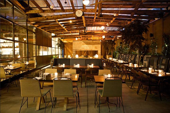 Hinoki the bird restaurant by mai studio los angeles