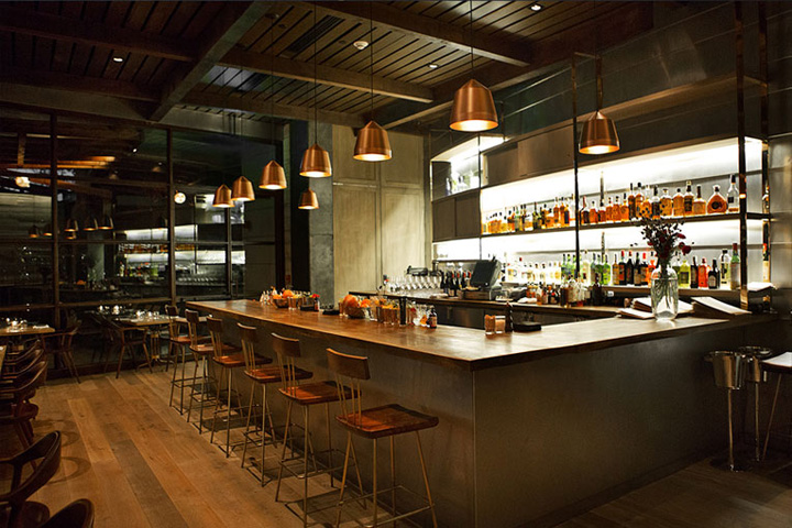 Hinoki amp The Bird Restaurant By MAI Studio Los Angeles