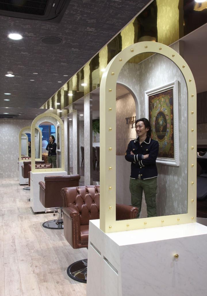 187 Inity Hair Salon By Hajime Yoshimoto Of Voiger Osaka