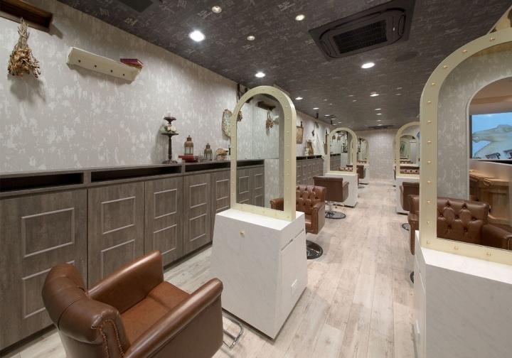 Inity Hair Salon By Hajime Yoshimoto Of Voiger Osaka