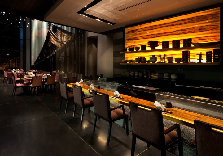 Sushi Bar Design japanese cuisine » retail design blog