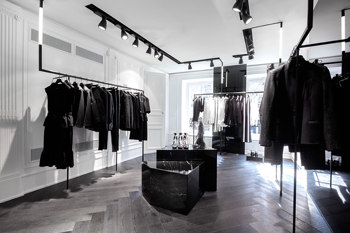 Karl Lagerfeld store Plajer Franz Studio Laird Partners Paris 03 Karl Lagerfeld store by Plajer & Franz Studio and Laird + Partners, Paris   Updated