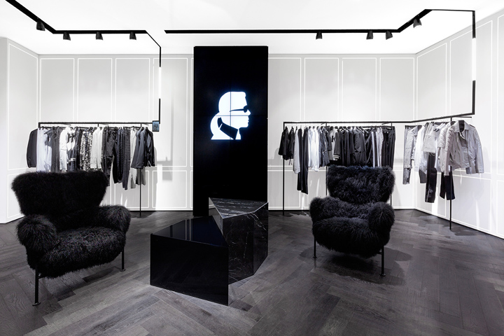 karl lagerfeld store by plajer franz studio and laird. Black Bedroom Furniture Sets. Home Design Ideas