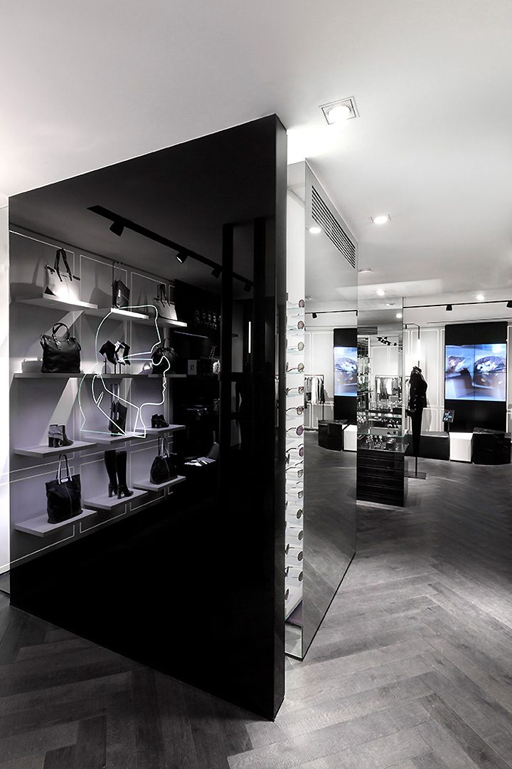 Karl Lagerfeld store Plajer Franz Studio Laird Partners Paris 06 Karl Lagerfeld store by Plajer & Franz Studio and Laird + Partners, Paris   Updated