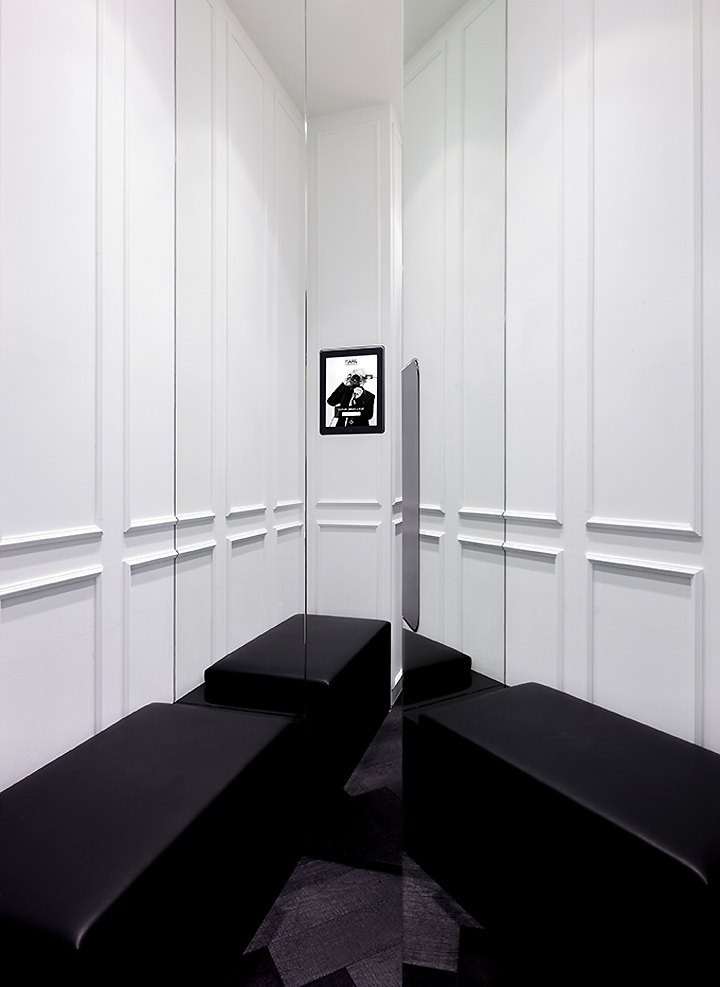 Karl Lagerfeld store Plajer Franz Studio Laird Partners Paris 08 Karl Lagerfeld store by Plajer & Franz Studio and Laird + Partners, Paris   Updated