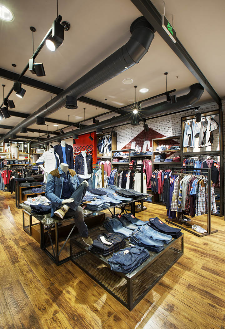 187 Lee Cooper Store By Cbte Architecture Turkey